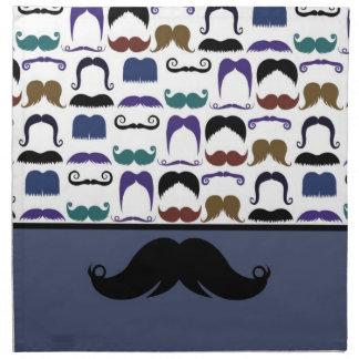 Bigote de moda Stache del bigote del manillar Servilletas