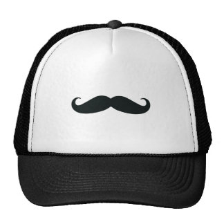 Bigote del bigote del bigote gorros bordados