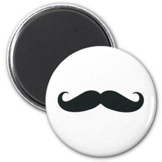 Bigote del bigote del bigote imán de nevera