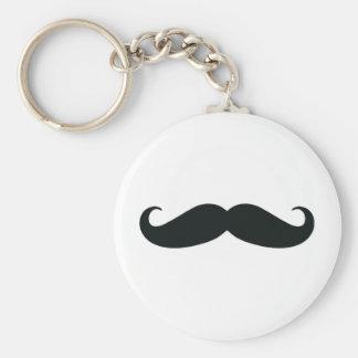 Bigote del bigote del bigote llavero personalizado