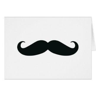 Bigote del bigote del bigote tarjetón
