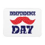 Bigote del Día de la Independencia Iman Rectangular