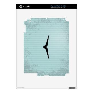 Bigote del lápiz calcomanía para iPad 2