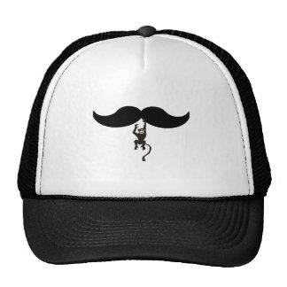 bigote del mono gorra