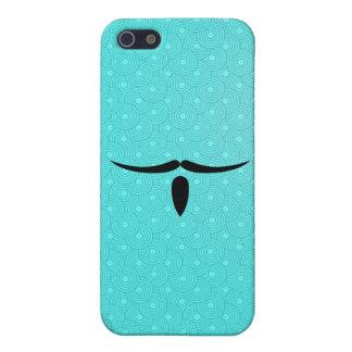 Bigote del mosquetero iPhone 5 protectores