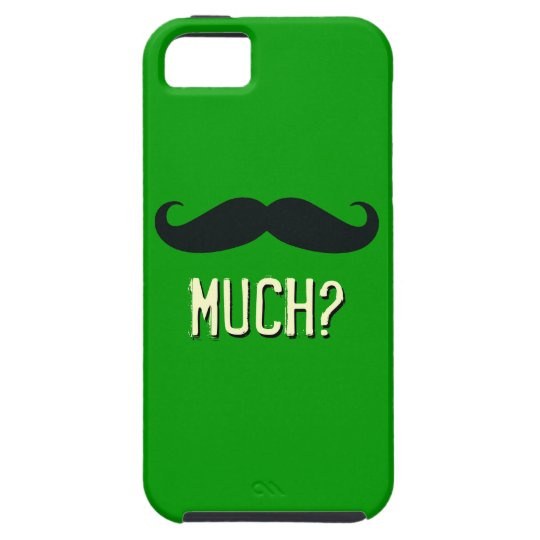Bigote divertido mucho caso del iPhone 5 Funda Para iPhone SE/5/5s