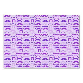 Bigote divertido violeta