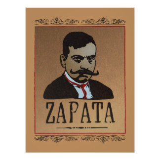 Bigote - Emiliano Zapata Póster