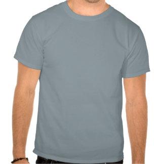 Bigote enojado divertido del sombrerero camiseta