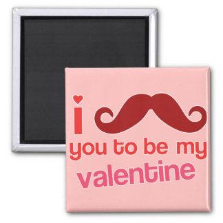 bigote i usted a ser mi imán de la tarjeta del día