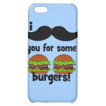 ¡Bigote I usted para algunas hamburguesas!