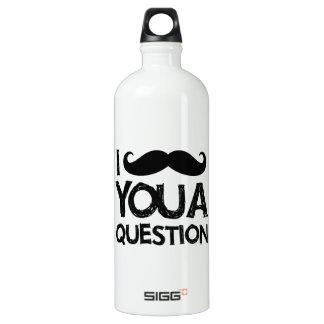 Bigote I usted una pregunta (diseño apenado)