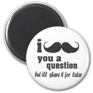 bigote i usted una pregunta imanes para frigoríficos