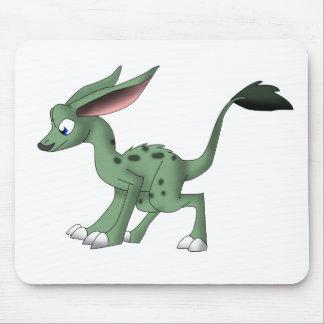 Bigote indefinido de la criatura W. Mousepads