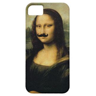 Bigote Mona Lisa iPhone 5 Carcasas