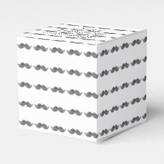 Bigote negro cajas para regalos