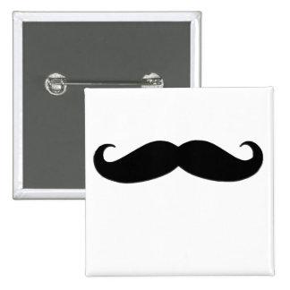 Bigote negro o bigote negro para los regalos de la pins