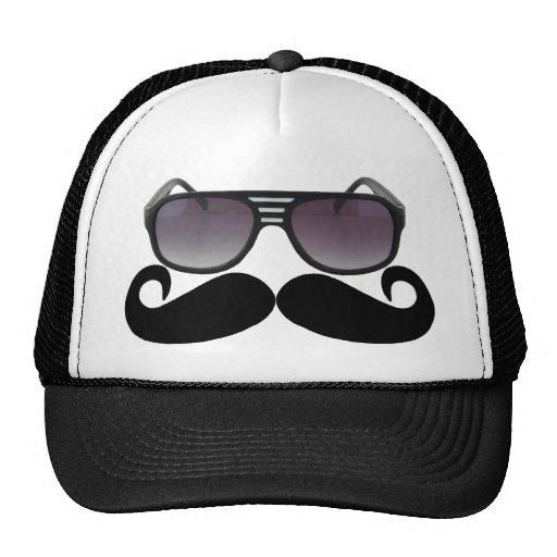 Bigote negro o bigote negro para los regalos Tr de Gorros