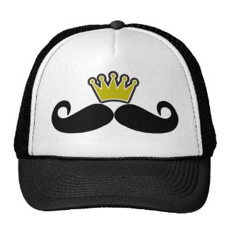 Bigote negro o bigote negro para los regalos Tr de Gorro De Camionero
