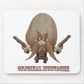 Bigote original alfombrilla de raton