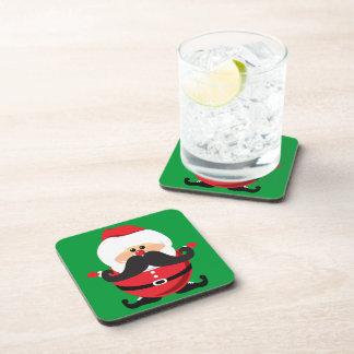 Bigote Papá Noel Posavasos De Bebida