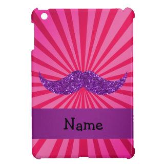 Bigote púrpura conocido personalizado del brillo