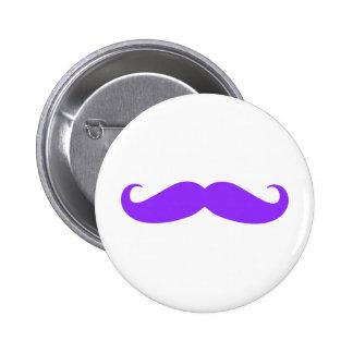 Bigote púrpura Stache Pins