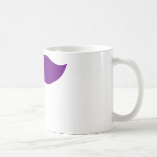 Bigote púrpura tazas