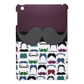 Bigote retro del bigote iPad mini cárcasa