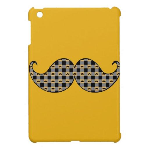 Bigote retro Stache del bigote iPad Mini Fundas