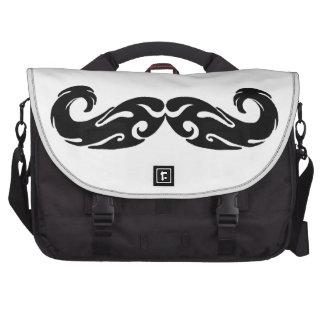 Bigote tribal bolsas para portatil