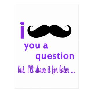 Bigote usted una plantilla de Qpc de la pregunta Postal