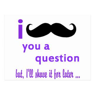 Bigote usted una plantilla de Qpc de la pregunta Postales