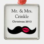 bigote y labios adorno para reyes