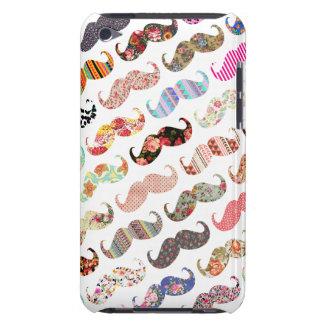 Bigotes coloridos femeninos divertidos de los mode iPod touch Case-Mate cárcasa