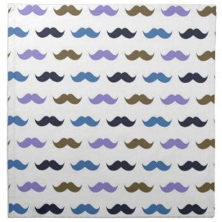 Bigotes del modelo w/Handlebar del bigote Servilleta