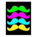 Bigotes retros del RGB Fluo Postal