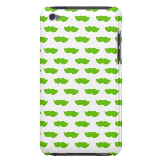 Bigotes verdes barely there iPod funda