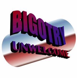 bigotry unwelcome sculpture