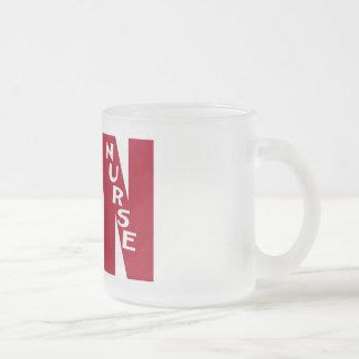 BigRed LVN - LICENSED VOCATIONAL NURSE Frosted Glass Coffee Mug