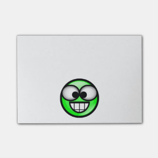 BigSmile-Green Post-it Notes
