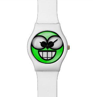 BigSmile-Green Wrist Watch