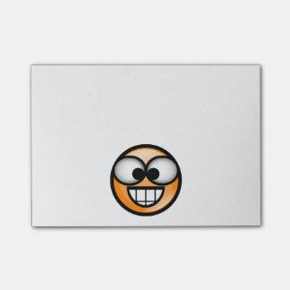 BigSmile-Orange Post-it Notes