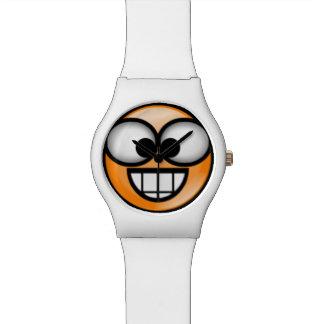 BigSmile-Orange Wrist Watch