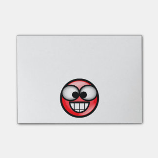 BigSmile-Red Post-it Notes