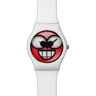 BigSmile-Red Watch