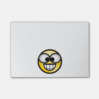 BigSmile-Yellow Post-it Notes