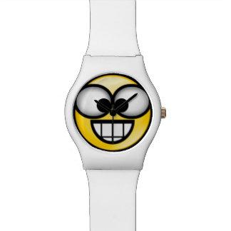 BigSmile-Yellow Wristwatch