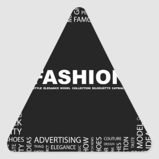 bigstock-FASHION-Word-collage-on-black-13237136.jp Triangle Sticker