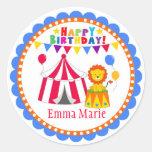 Bigtop Circus Labels Stickers
